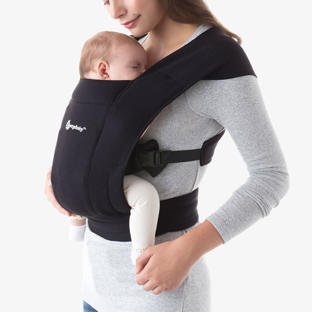 Рюкзак-кенгуру Ergobaby Embrace - Pure Black