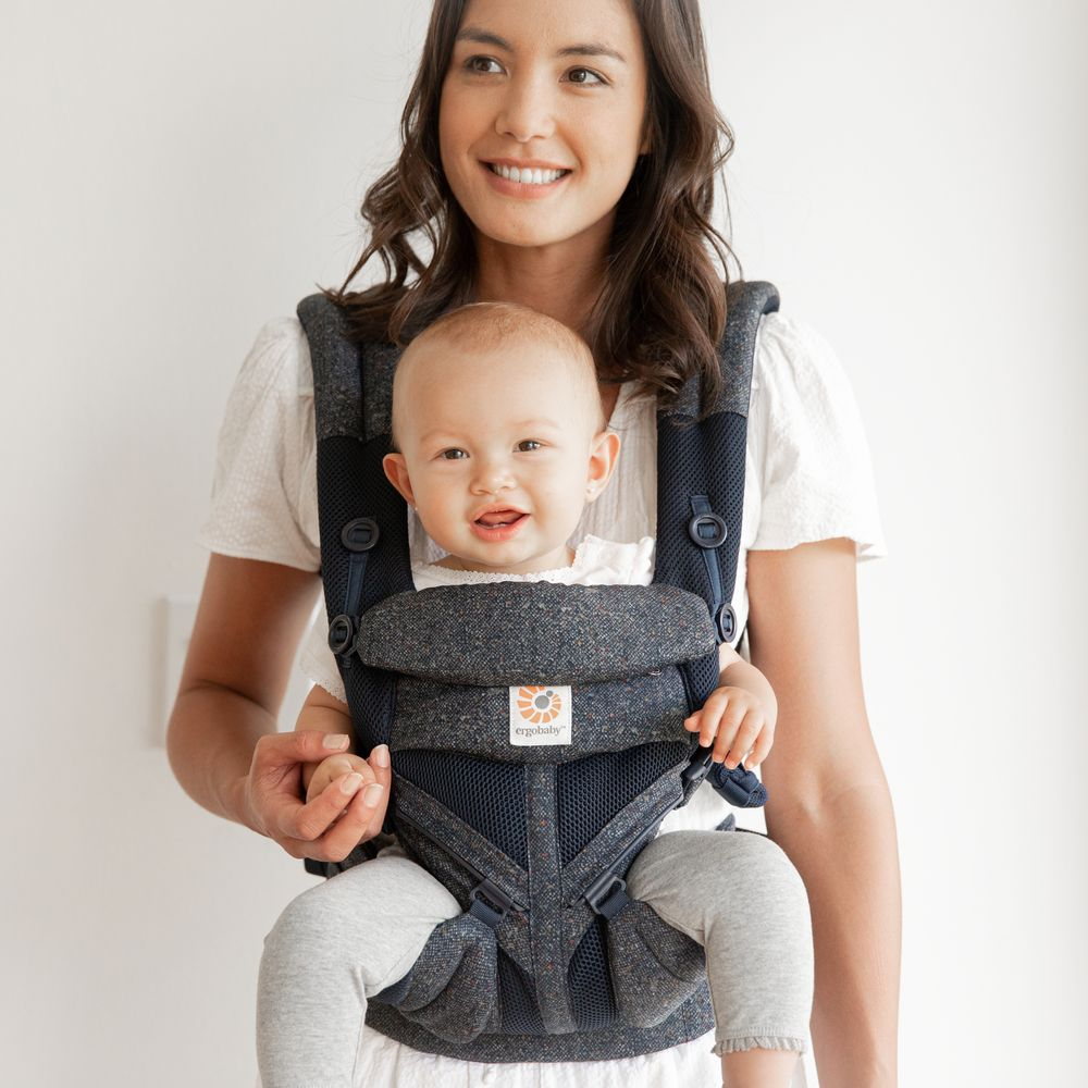 Рюкзак-кенгуру Ergobaby OMNI 360 Cool Air Mesh - Blue Tweed