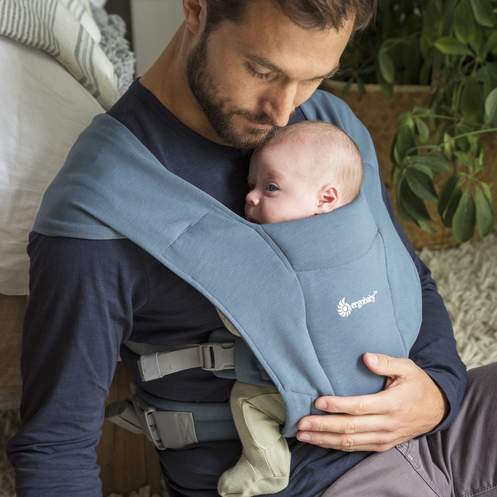 Рюкзак-кенгуру Ergobaby Embrace - Oxford Blue